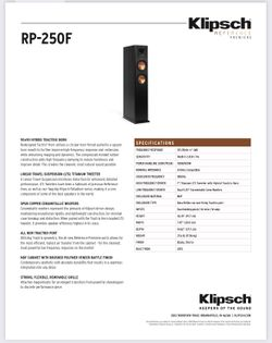 Klipsch RP-250F Floorstand Tower Speakers - Pair! Thumbnail