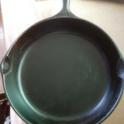 Wagner Ware Sidney -O- No 10 Cast Iron Skillet 1060A Frying Pan Thumbnail
