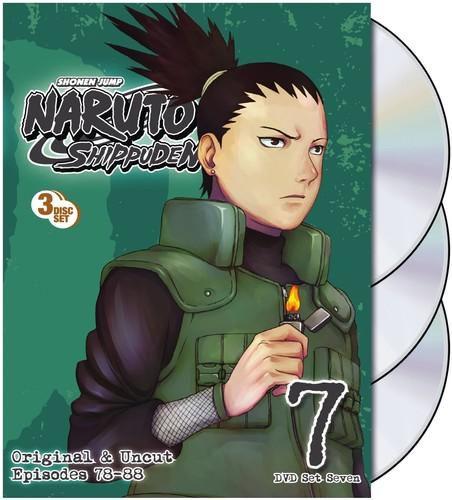 Naruto Shippuden Uncut Set 7 [DVD]