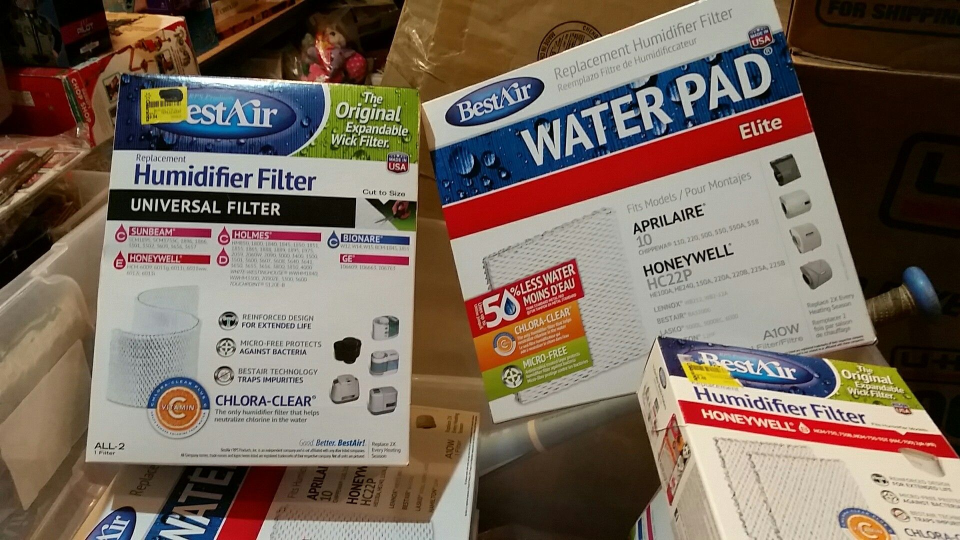 Humidifier Replacement Filters