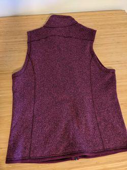 Patagonia Better Sweater Women's Vest Medium Violet Red. Thumbnail