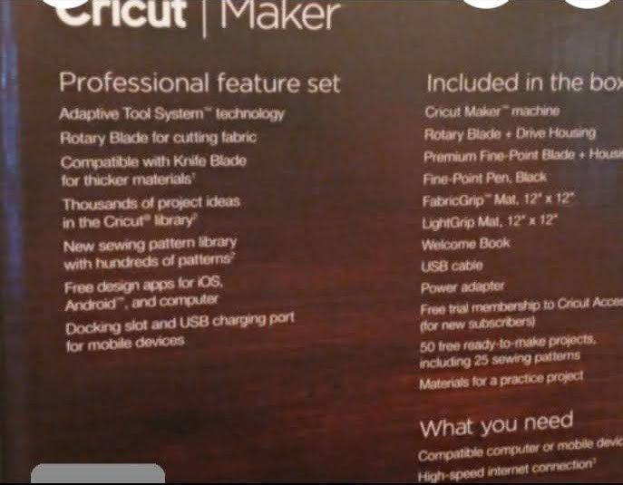 Brand New Cricut Ultimate Cutting Machine