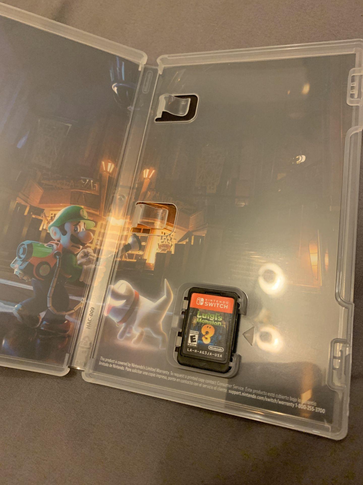 Luigi's Mansion Game Switch Games
