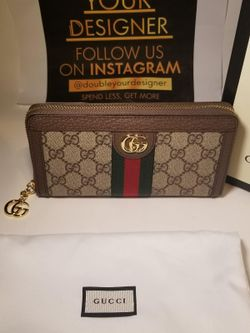 Gucci Ophidia Brown GG Supreme Wallet Thumbnail