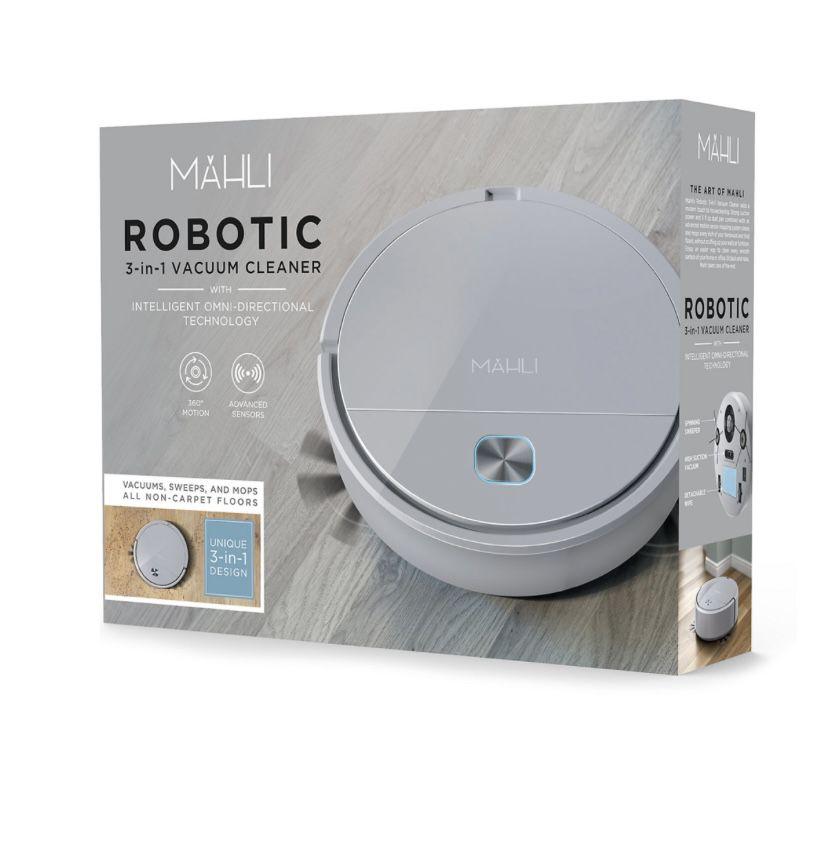 Mauli robotic 3 in 1 vacuum cleaner