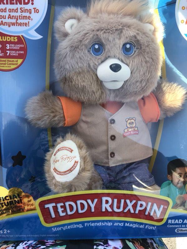 Teddy ruxpin new