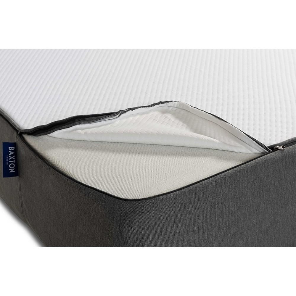 Baxton Studio Cara 10-Inch Triple Layered Hypoallergenic Twin Size Memory Foam Mattress
