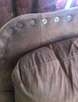 Shotgun Shell Chair And Ottoman  Thumbnail