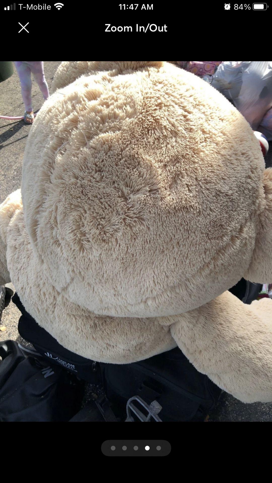 Giant 5ft Bear