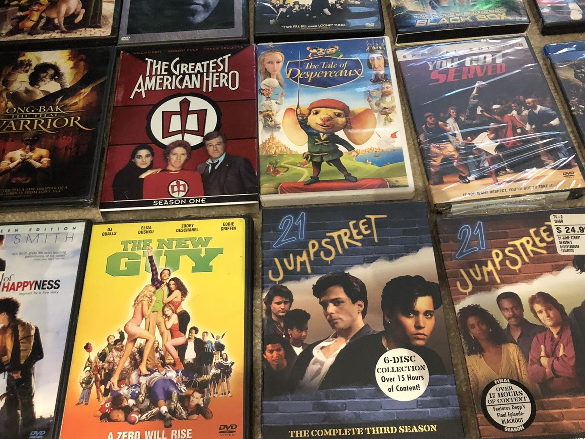 Lots Of DVDs For Sale -some Still New And In Excellent