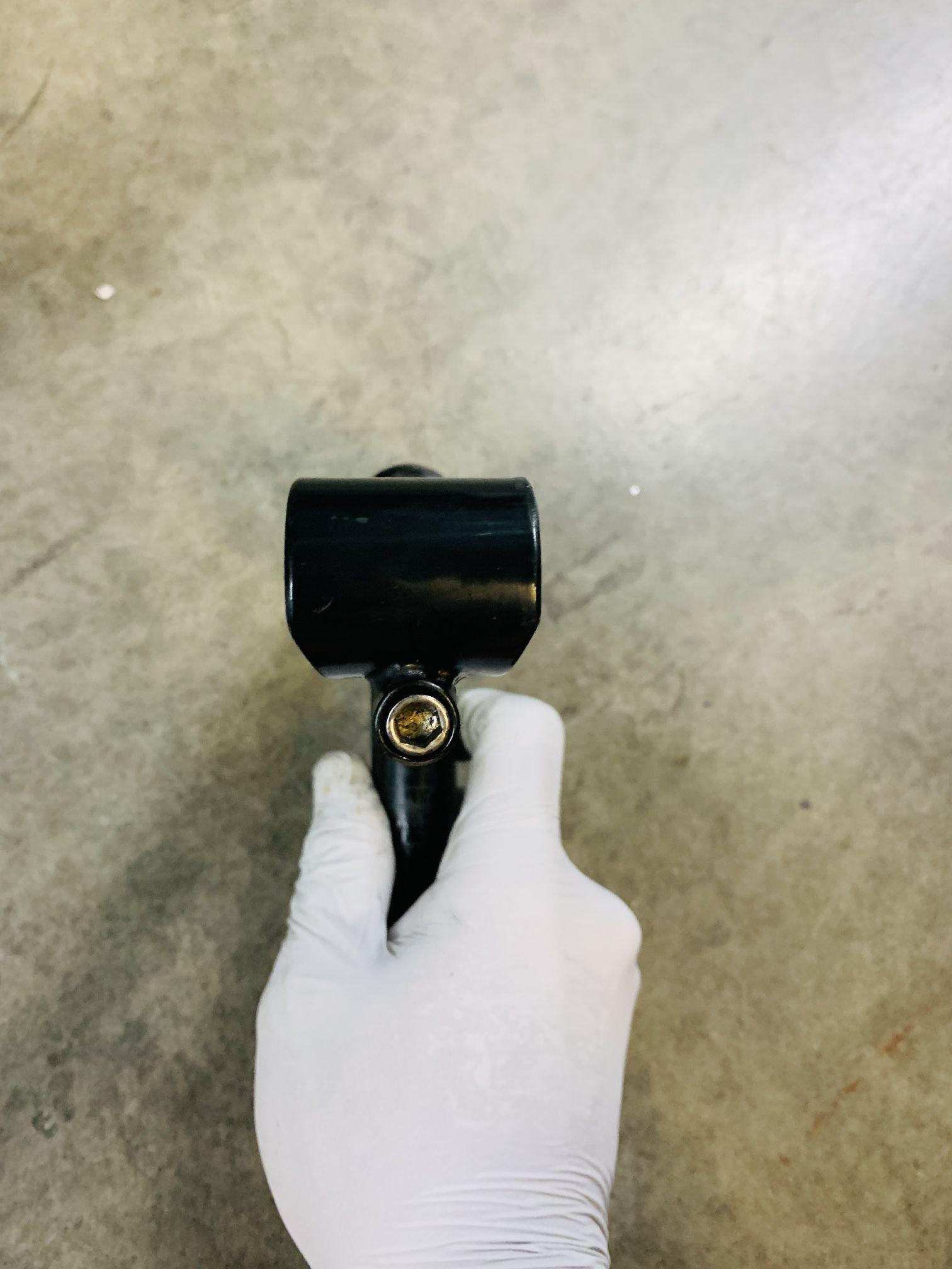 Black Quill Stem 110mm