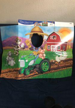 Farm Tractor Photo Prop - New Thumbnail