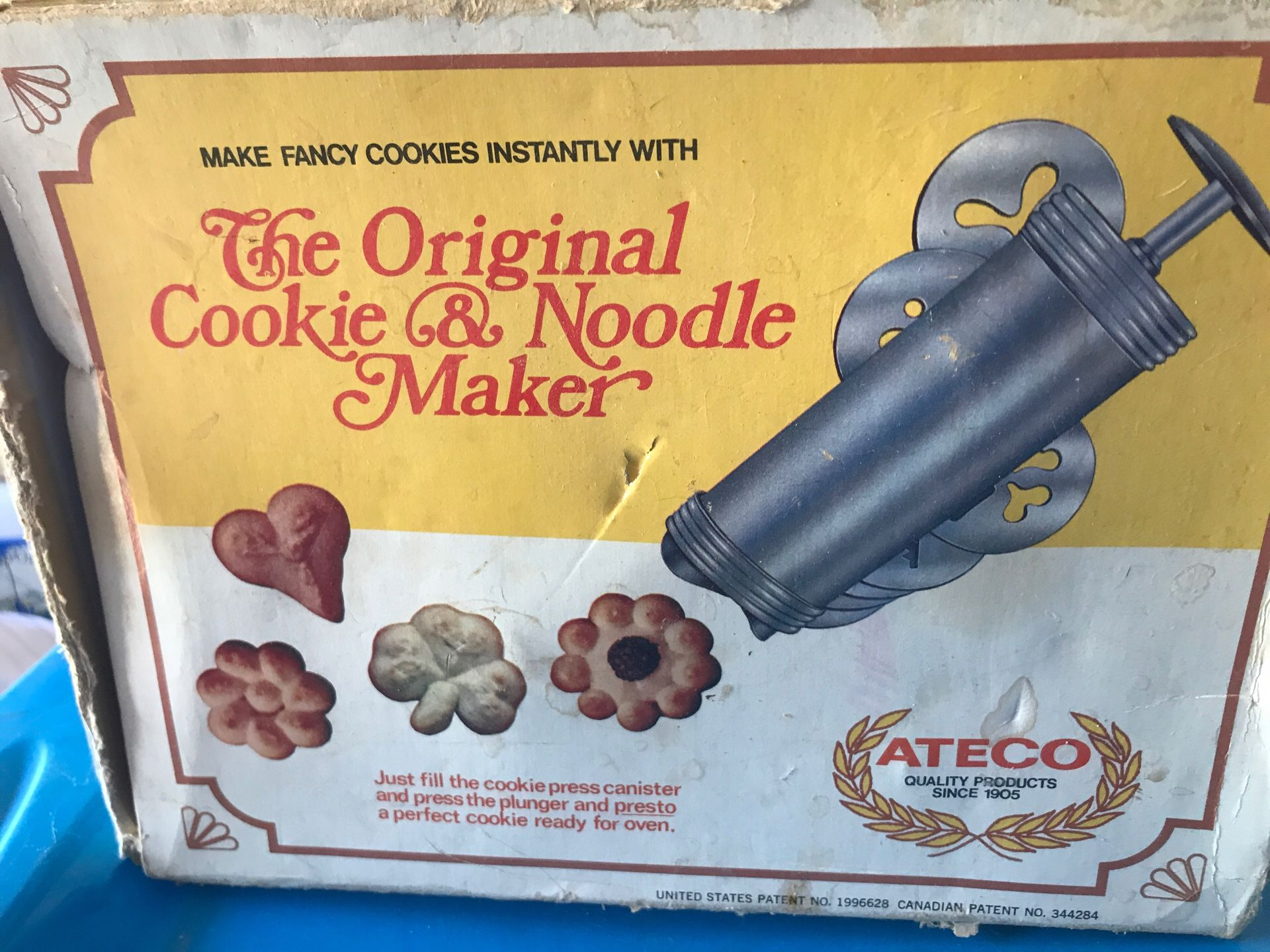 The Original Cookie and Noodle Maker