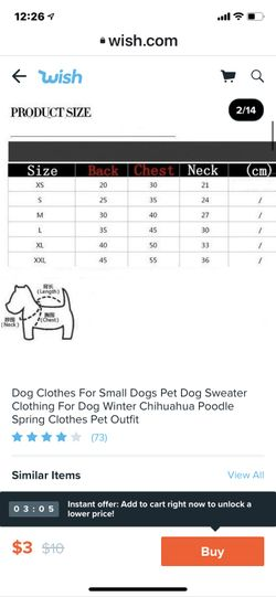 Dog Sweater In Several Colors Thumbnail