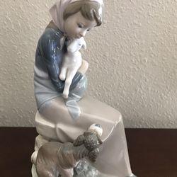 "Lladro ""Jealousy"" Collectible Figurine #1278 Thumbnail"