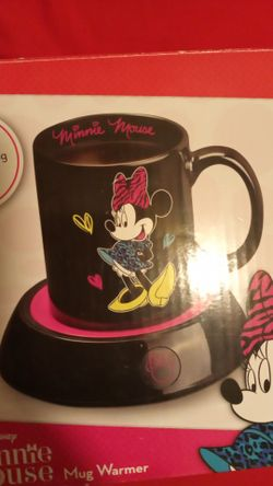 New Minnie mouse coffee warmer and cup Thumbnail