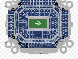 Miami Dolphins 4 Tickets $40each  With Free Parking  Thumbnail