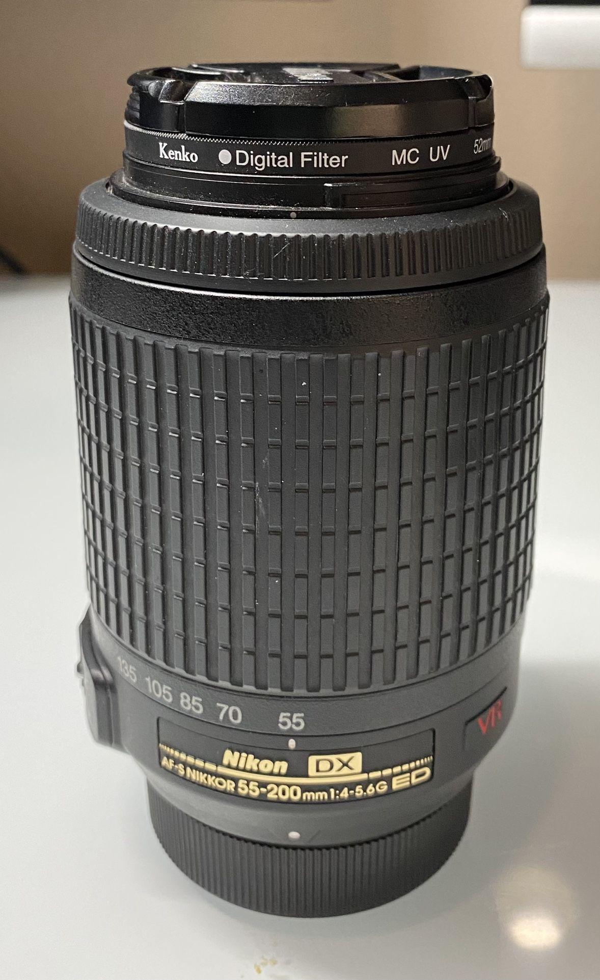 Nikon D90 DSLR Camera with 2 lenses