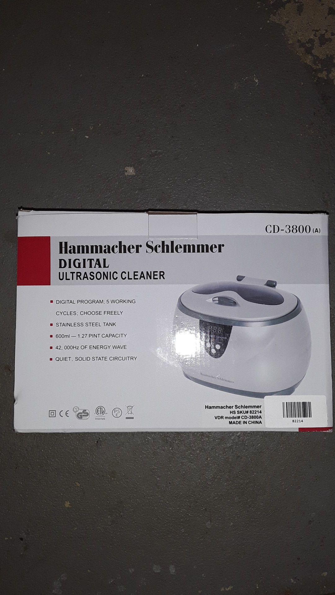 Jewlery Ultrasonic cleaner