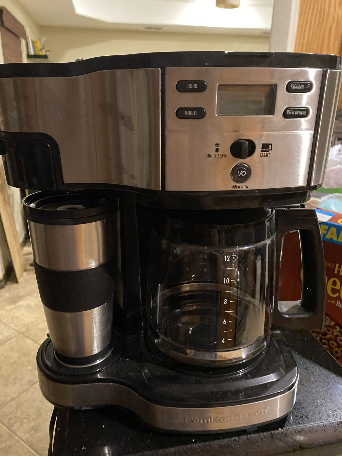 New coffee pot never used