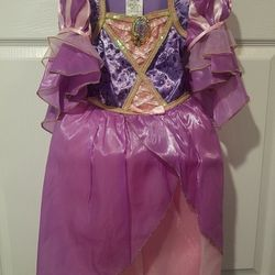 Toddler Size 4 Rapunzel Costume And Accessories Thumbnail