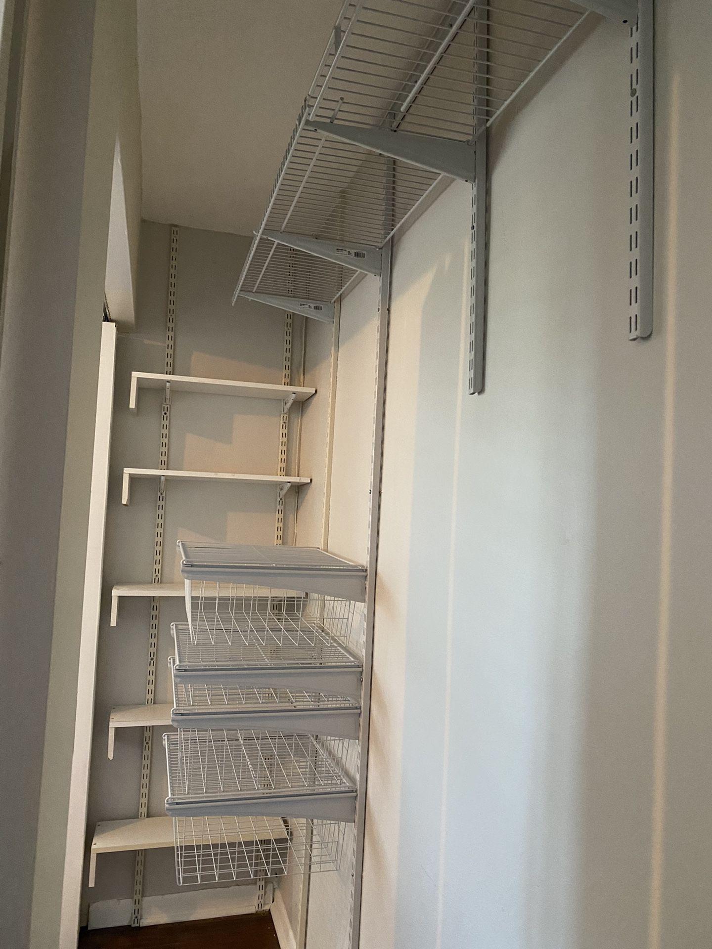 Closet System For Sale
