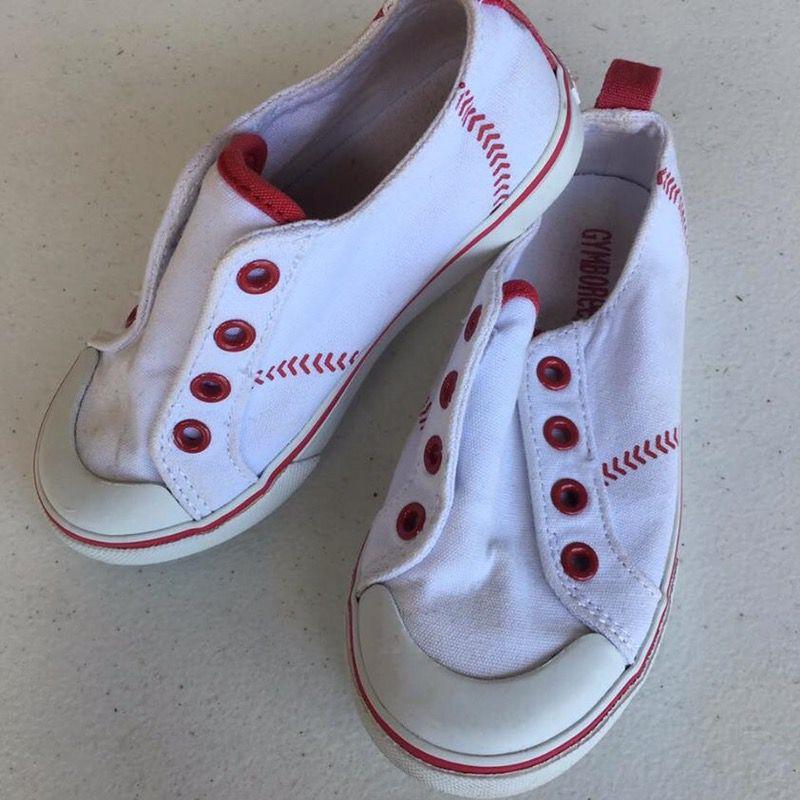 Baseball toddler shoes