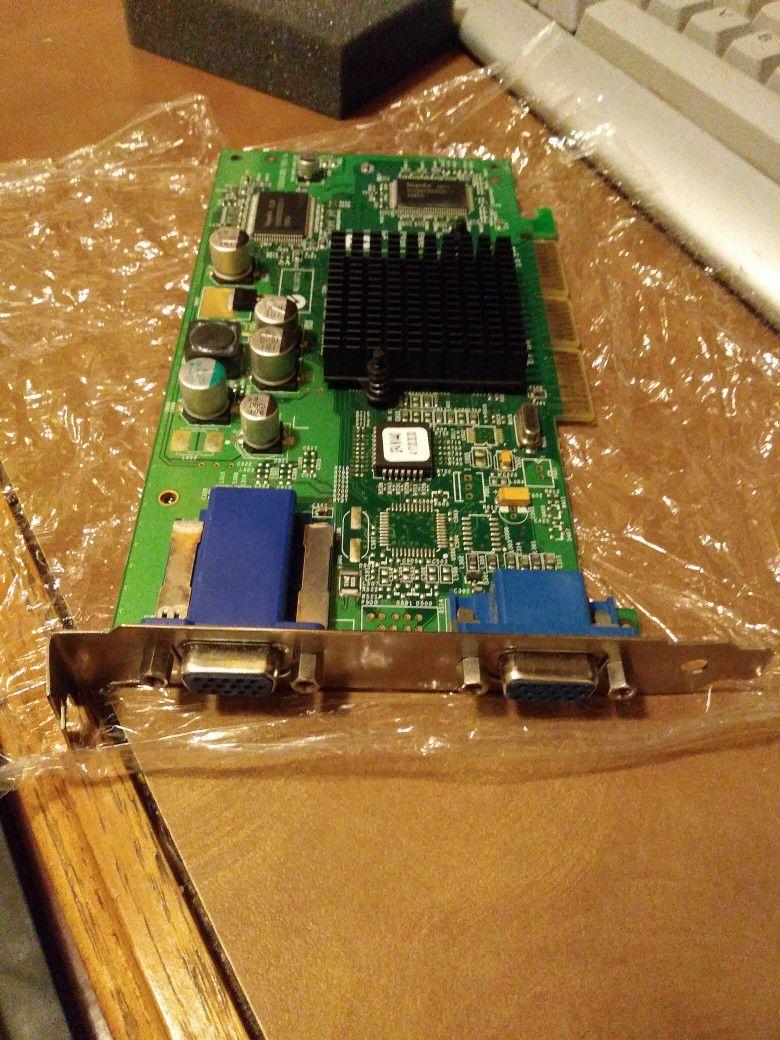 Dual Monitor VGA Card