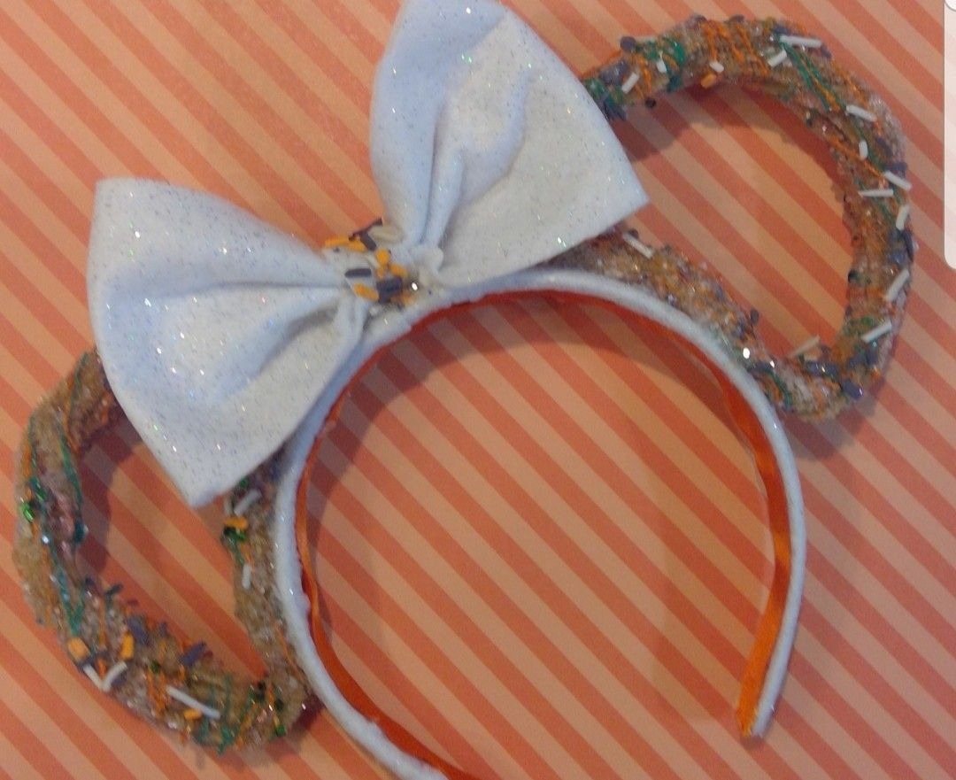 Thanksgiving Minnie Mouse Churros Scented Headband ears