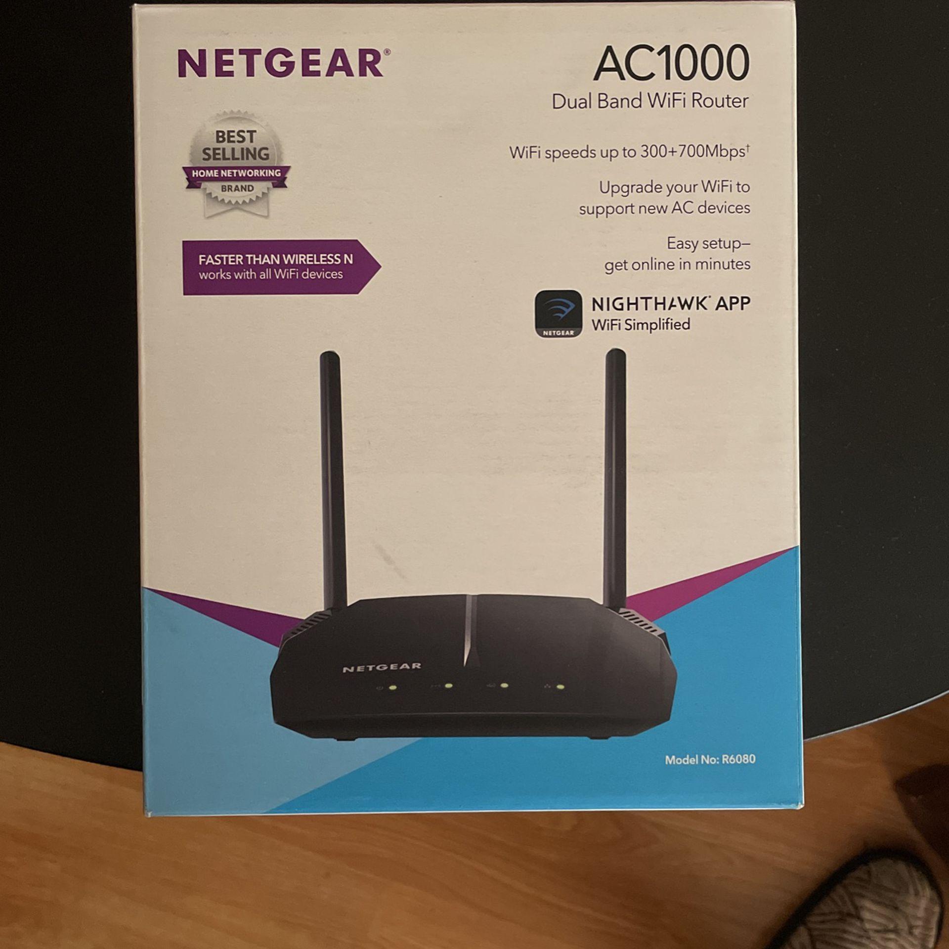 Net gear Ac1000 Dual Band Wifi Router