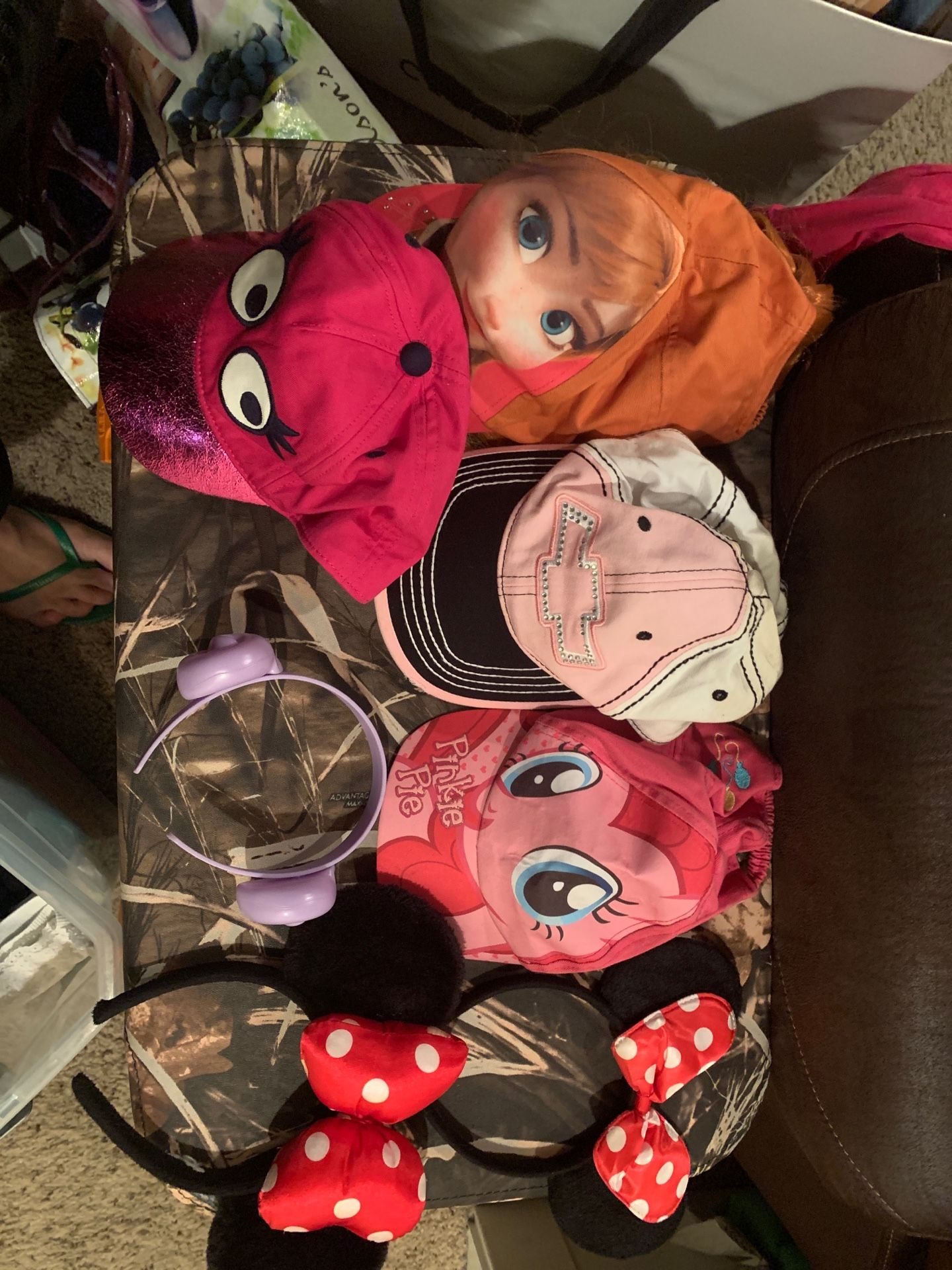 Girl Minnie mouse ears hats