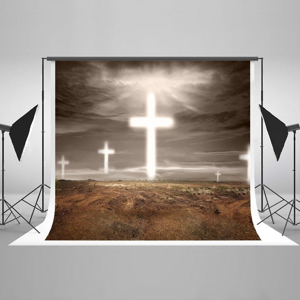 5x7ft Photo Backdrop Outdoor Scene Holy Lighting Background Backdrop Wedding Photo Booth Props