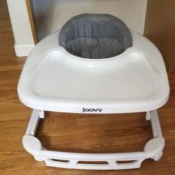 Joovy Spoon Walker, Adjustable Baby Walker, Activity Center, Charcoal   Thumbnail