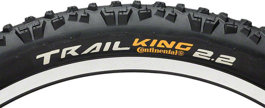 Continental Trail King Tire 27.5x2.4 Folding APEX Sidewall & Black Chili Rubber