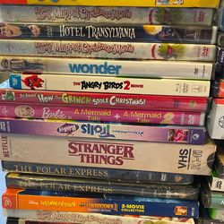 OER 25 BRAND NEW DVDS AND CDS MUST GO TODAY! HOLIDAY MOVIES POLAR EXPRESS, TROLLZ, STRANGER THINGS, GRINCH Thumbnail