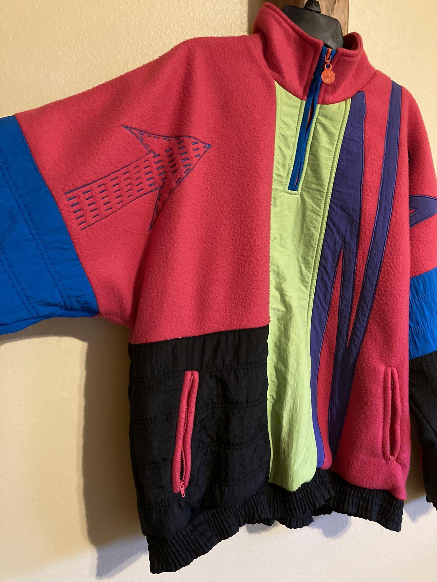 Adidas Vintage Fleece Sweater
