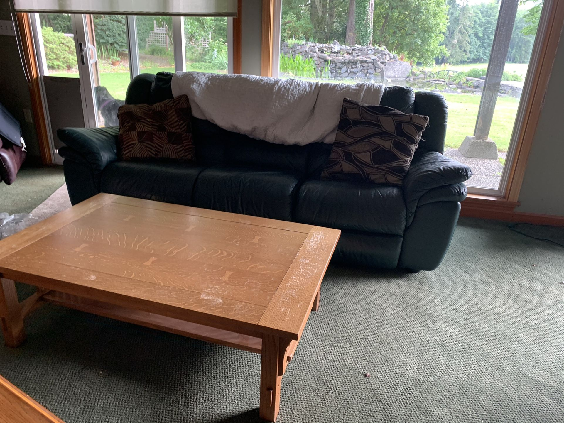 2 Green Couches