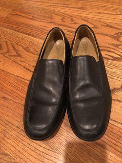 Cole Haan 10.5 men's black leather shoes Thumbnail