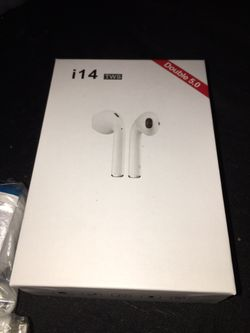 WIRELESS HEADPHONES / EARBUDS (WORKS WITH ANDROID & IPHONE) Thumbnail