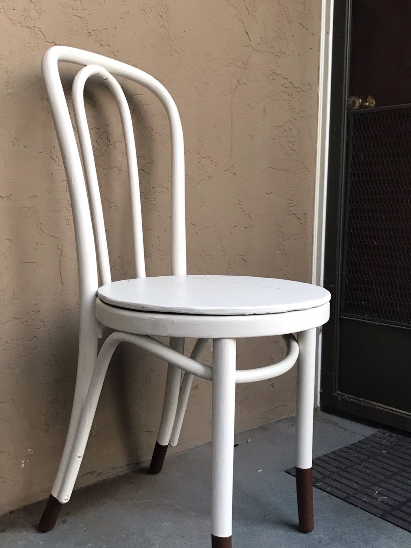 Vintage Style Bistro Cafe Casual Dining Chair