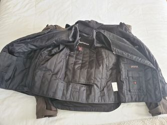 Large Men's First Gear Motorcycle Jacket w/liner Thumbnail