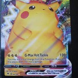 Pikachu Vmax Pokemon card Thumbnail