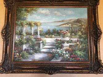 Oil Painting On Canvas  Thumbnail