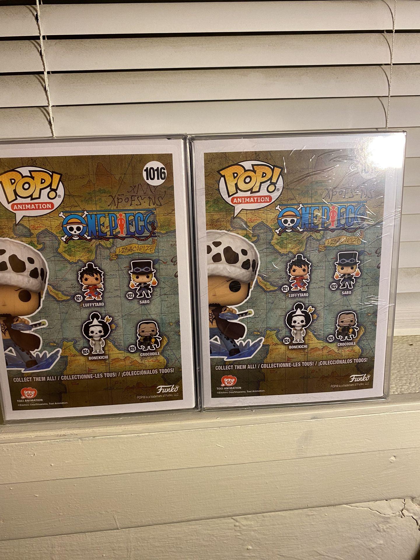 One Piece Trafalgar Law Funko Pop! Chase + Common Bundle AAA Anime Exclusive!
