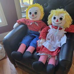 """36"""" Raggedy Anne & Andy Thumbnail"""