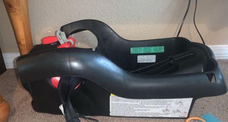 Graco-pedic Luxury Foam Car seat And Anchor Thumbnail