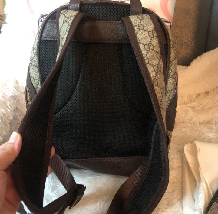 G G Backpack With Small Wallet
