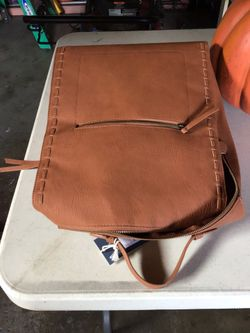 Universal Thread (Target) Cognac Backpack NWT Thumbnail