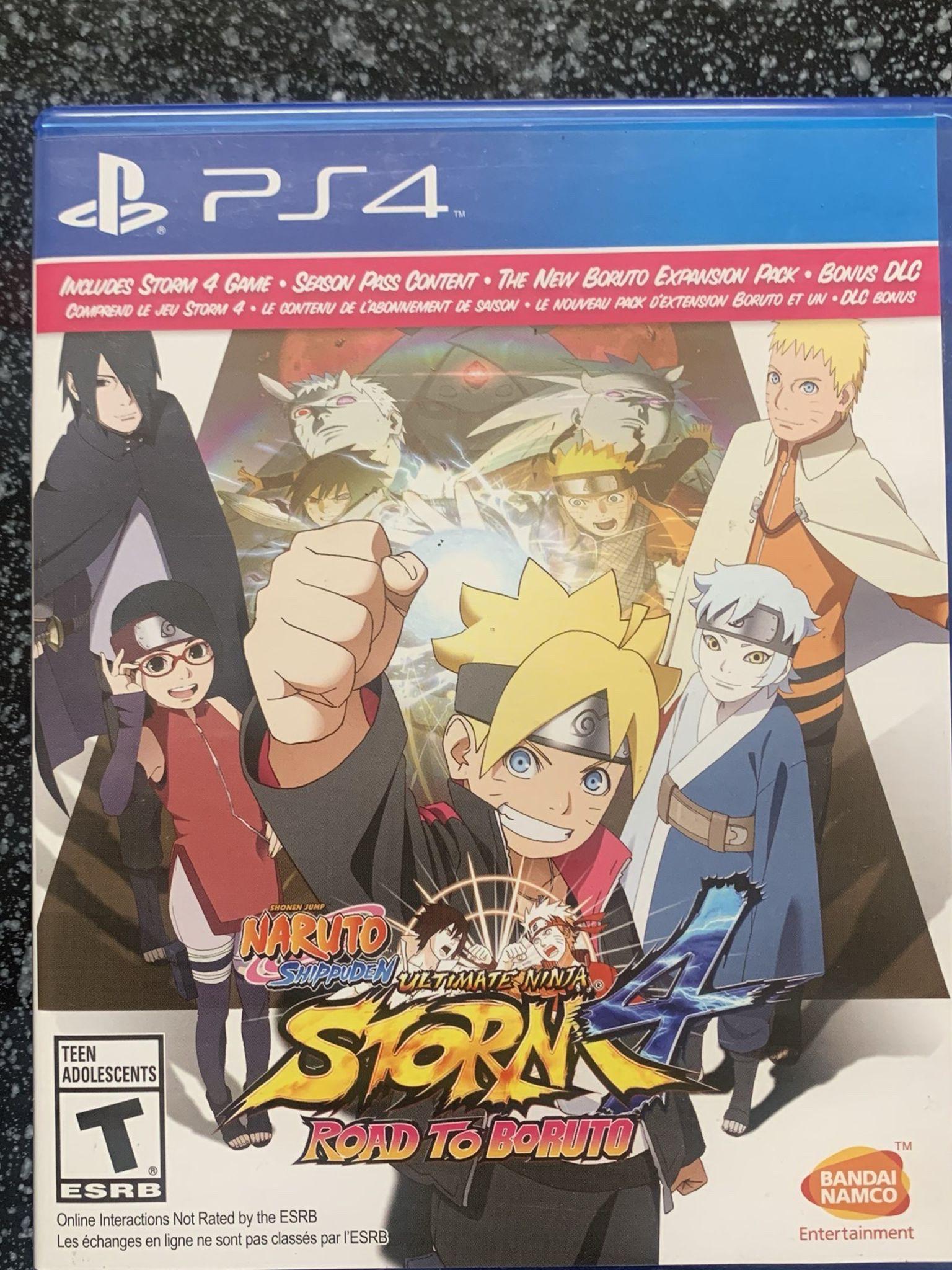 Naruto Shippiden Ultimate Ninja 4 With Road To Boruto Expansion