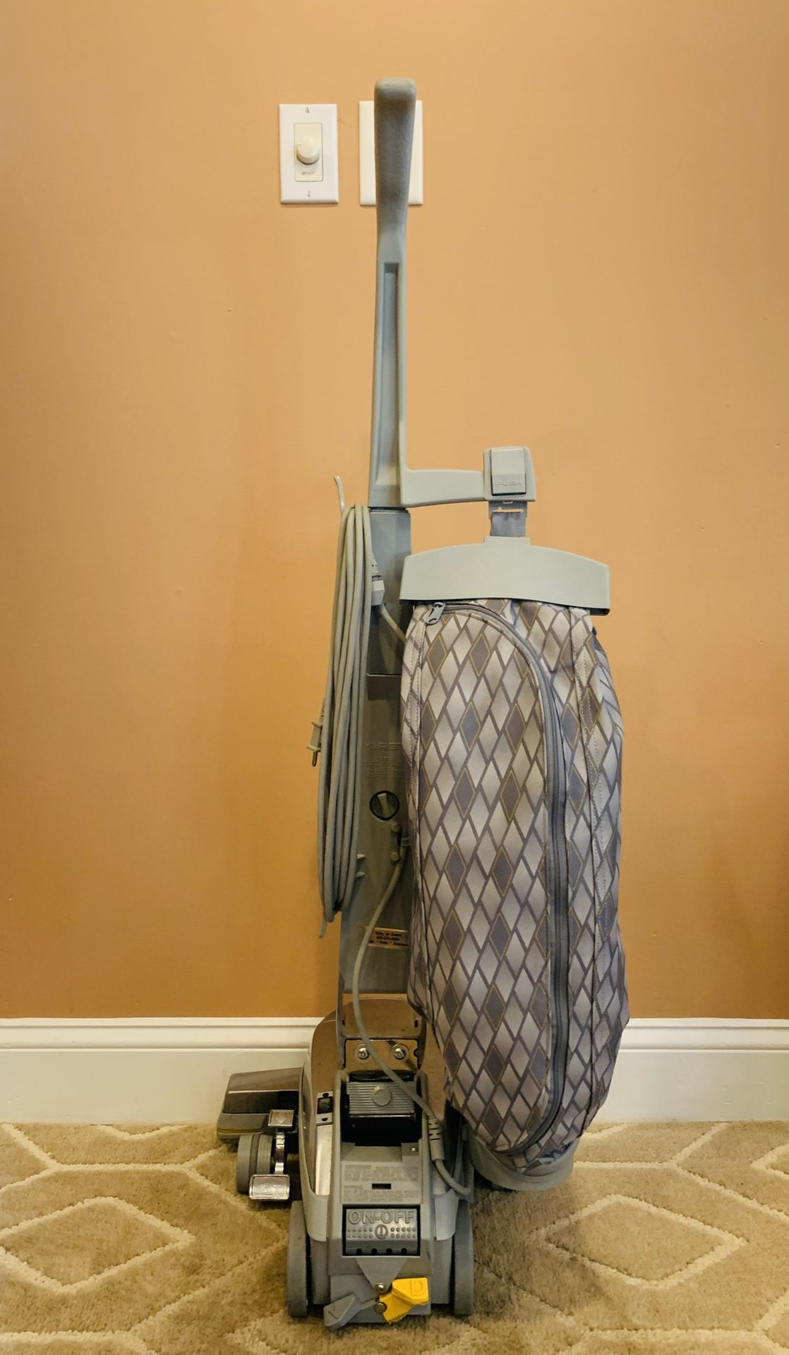Kirby diamond vacuum cleaner with attachments and shampooer